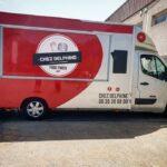 Pose signalétique - delphine food truck