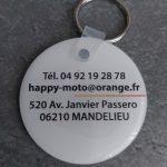 Porte-clés-happy-moto